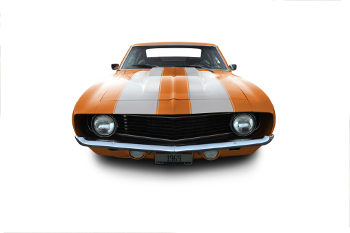 Hot Rod Car「Chevy Camaro from 1969」:スマホ壁紙(17)