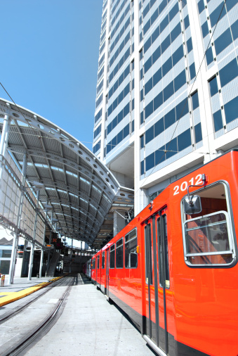 Cable Car「San Diego Tramway in Station」:スマホ壁紙(13)