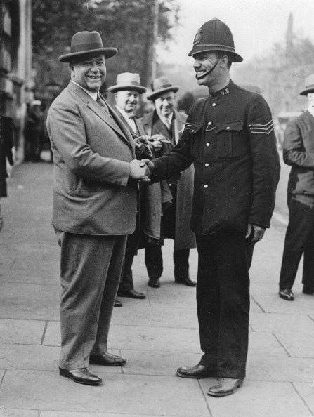 Police Chief「The Chief Of Police Of Berlin Karl Zörgiebel On A Visit To London. 8Th June 1929. Photograph.」:写真・画像(8)[壁紙.com]