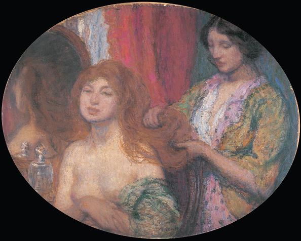 Dresser「Combing The Hair C 1912」:写真・画像(2)[壁紙.com]