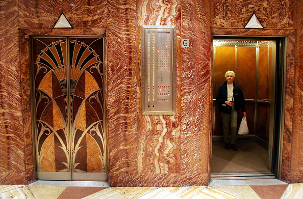 Elevator「Chrysler Building Celebrates 75th Anniversary」:写真・画像(9)[壁紙.com]