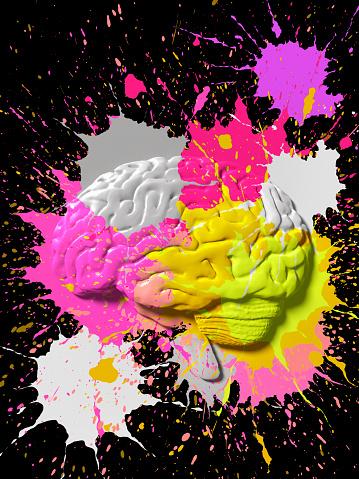 Rebellion「Paint splattered Brain」:スマホ壁紙(4)