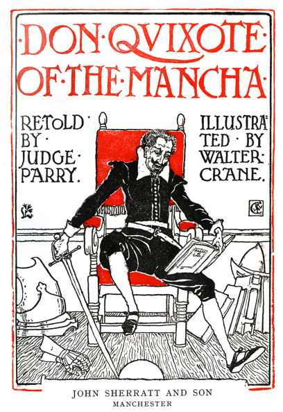 絵「Don Quixote of the Mancha by Walter Crane」:写真・画像(14)[壁紙.com]