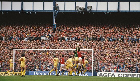 Liverpool - England「Liverpool v Manchester United FA Cup Semi Final 1985」:写真・画像(19)[壁紙.com]
