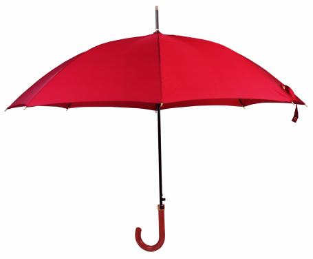雨「red umbrella」:スマホ壁紙(15)