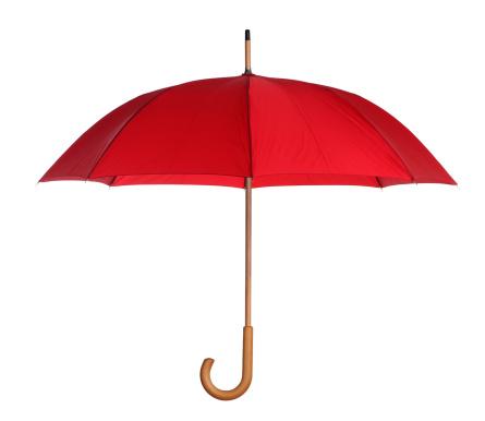 赤「赤色傘白で分離」:スマホ壁紙(9)