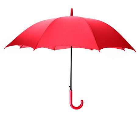 赤「赤色傘」:スマホ壁紙(9)