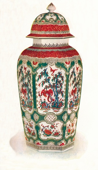 Vase「'One Of A Pair Of Worcester Vases', 1911」:写真・画像(12)[壁紙.com]