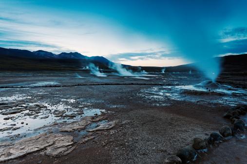 Antofagasta Region「Chile, Antofagasta Region, El Tatio Geyser field」:スマホ壁紙(10)