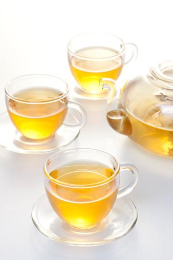 透明「Transparent tea set with tea」:スマホ壁紙(18)