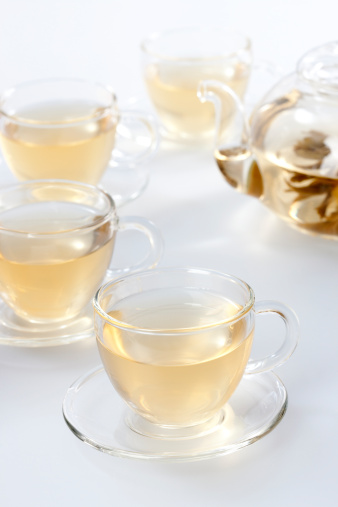 Tea Cup「Transparent tea set with tea」:スマホ壁紙(7)