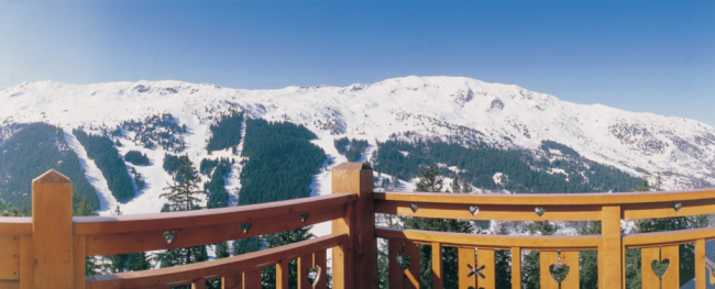 Tarentaise「Balcony of ski resort」:スマホ壁紙(9)