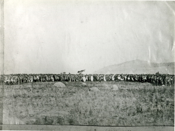 1870-1879「Native leveys at Isandlwana under S.L. Knight.  (Photo by Natal Witness Archives/Gallo Images/Getty Images)...」:写真・画像(7)[壁紙.com]