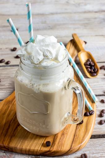 Dessert Topping「Greek coffee Frappe with milk」:スマホ壁紙(4)
