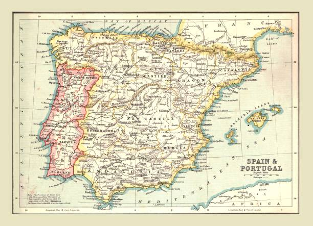 Map Of Spain And Portugal:ニュース(壁紙.com)