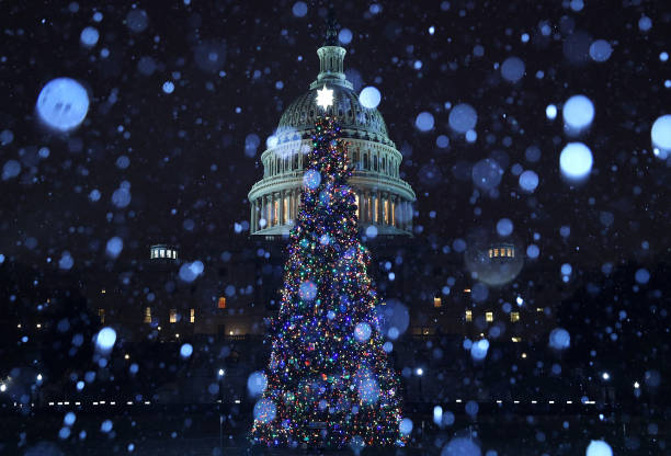 A Wintry Mix Of Sleet And Snow Falls On Washington:ニュース(壁紙.com)