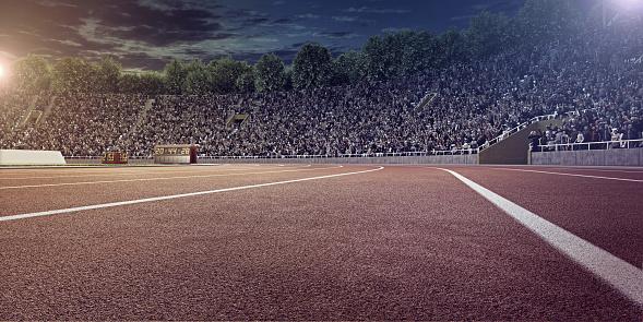 オリンピック「オリンピック競技場、ランニングトラック」:スマホ壁紙(7)