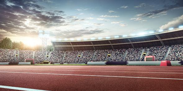 オリンピック「オリンピック競技場、ランニングトラック」:スマホ壁紙(0)