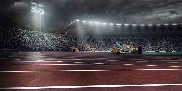 オリンピック「オリンピック競技場、ランニングトラック」:スマホ壁紙(8)