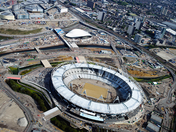 Summer Olympic Games「Olympic Stadium at Stratford under construction,」:写真・画像(16)[壁紙.com]
