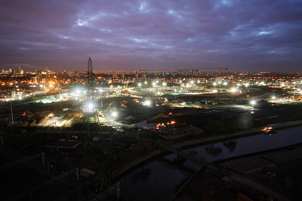 Summer Olympic Games「Olympic Stadium construction site, night, November 2008」:写真・画像(19)[壁紙.com]