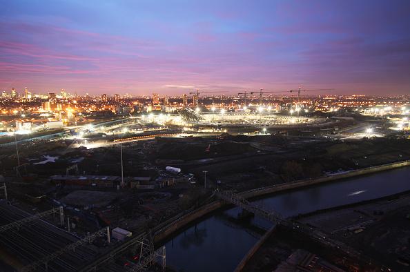 2012 Summer Olympics - London「Olympic Stadium construction site, December 2008」:写真・画像(10)[壁紙.com]