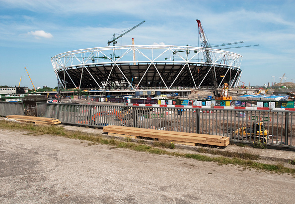2012 Summer Olympics - London「Olympic Stadium under construction, Stratford, East London, UK」:写真・画像(19)[壁紙.com]