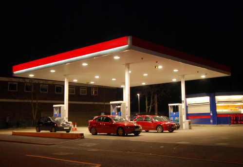 Garage「Filling Station at Night, Kent」:スマホ壁紙(19)