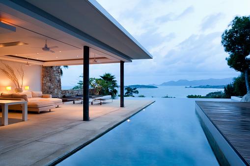 USA「Modern Island Villa」:スマホ壁紙(6)