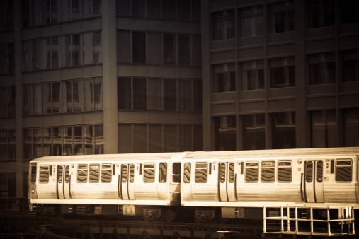Passenger Train「Chicago El」:スマホ壁紙(5)