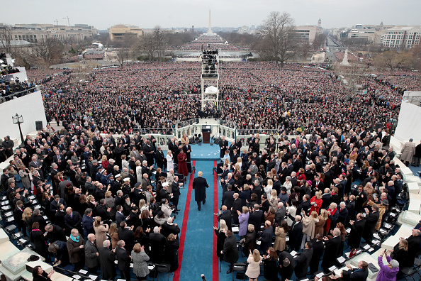 Arrival「Donald Trump Is Sworn In As 45th President Of The United States」:写真・画像(16)[壁紙.com]