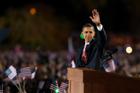 Success「Barack Obama Holds Election Night Gathering In Chicago's Grant Park」:写真・画像(13)[壁紙.com]