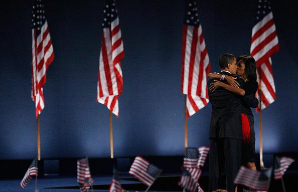 Success「Barack Obama Holds Election Night Gathering In Chicago's Grant Park」:写真・画像(15)[壁紙.com]