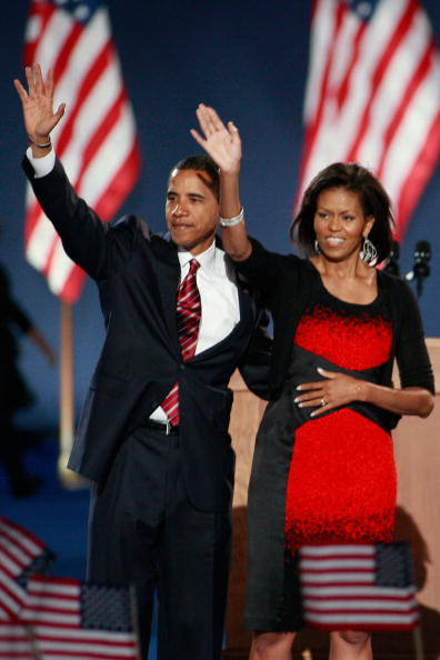Success「Barack Obama Holds Election Night Gathering In Chicago's Grant Park」:写真・画像(14)[壁紙.com]