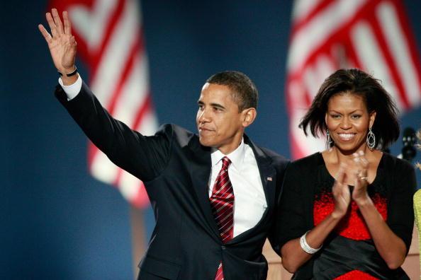 Bestof「Barack Obama Holds Election Night Gathering In Chicago's Grant Park」:写真・画像(3)[壁紙.com]
