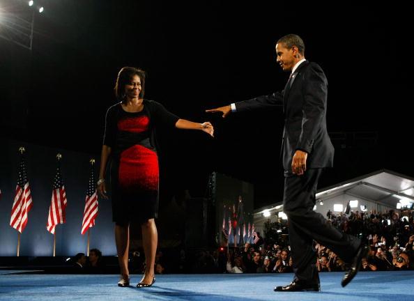 Success「Barack Obama Holds Election Night Gathering In Chicago's Grant Park」:写真・画像(13)[壁紙.com]