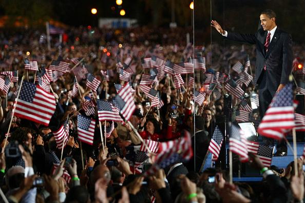 Event「Barack Obama Holds Election Night Gathering In Chicago's Grant Park」:写真・画像(9)[壁紙.com]