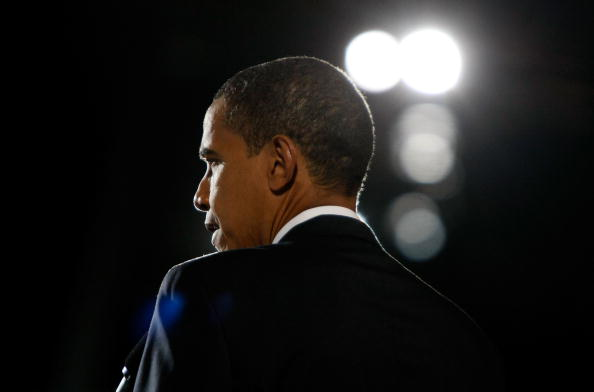 Speech「Barack Obama Holds Election Night Gathering In Chicago's Grant Park」:写真・画像(6)[壁紙.com]