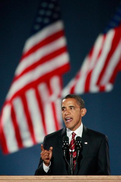 Success「Barack Obama Holds Election Night Gathering In Chicago's Grant Park」:写真・画像(18)[壁紙.com]