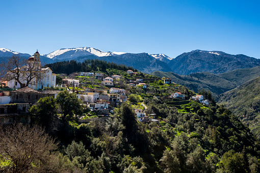 Aegean Sea「Greece, Crete, mountain village Lakkoi」:スマホ壁紙(2)