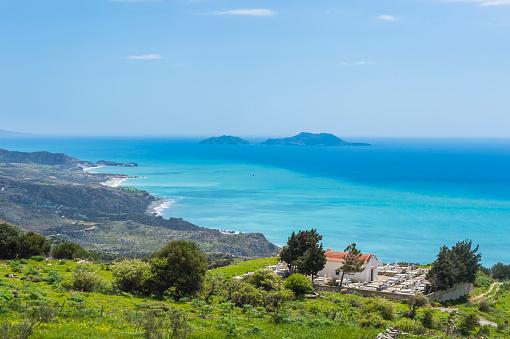 Aegean Sea「Greece, Crete, South Coast」:スマホ壁紙(4)