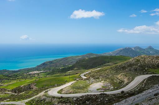 Aegean Sea「Greece, Crete, South Coast」:スマホ壁紙(7)