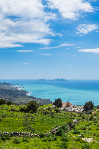 Aegean Sea「Greece, Crete, South Coast」:スマホ壁紙(11)