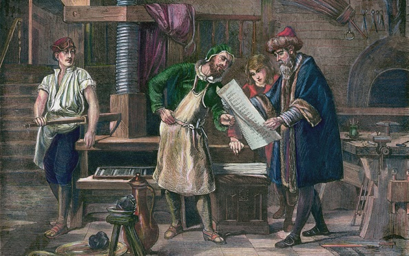 Workshop「Johannes Gutenberg In His Workshop」:写真・画像(17)[壁紙.com]