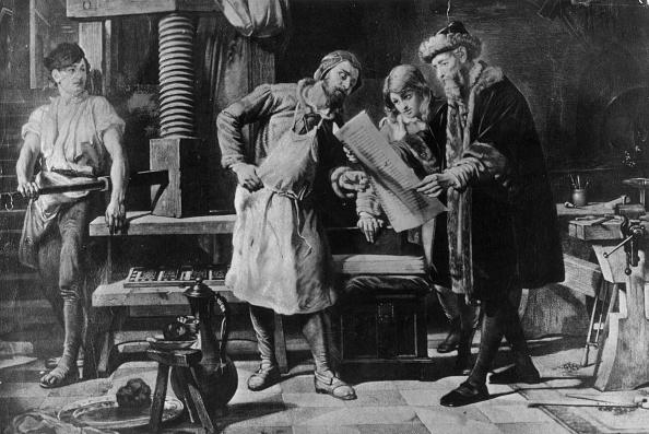Printmaking Technique「Johannes Gutenberg In His Workshop」:写真・画像(9)[壁紙.com]