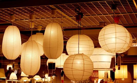 Chinese Lantern「atmospheric luminous paper lamps」:スマホ壁紙(11)