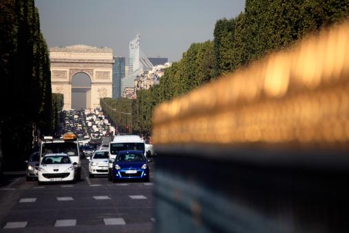 Arc de Triomphe - Paris「Avenue des Champs Elysees and Arc de Triomphe」:スマホ壁紙(18)