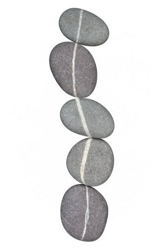 Continuity「Chain of five pebbles linked by quartz veins」:スマホ壁紙(2)