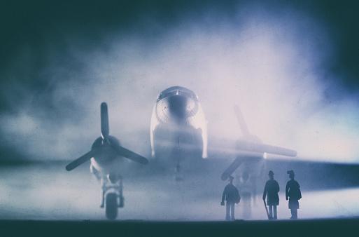 Passenger「DC-3 Dakota In The Fog, Model Photography」:スマホ壁紙(14)