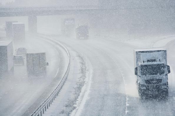 Danger「M11 motorway in snow, Cambridgeshire」:写真・画像(14)[壁紙.com]
